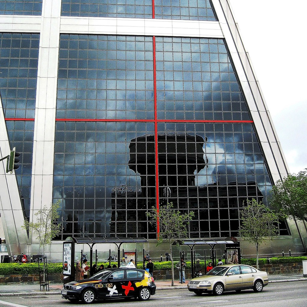 06 plaza castilla torres kio 4861 puerta de europa - Torres kio arquitecto ...