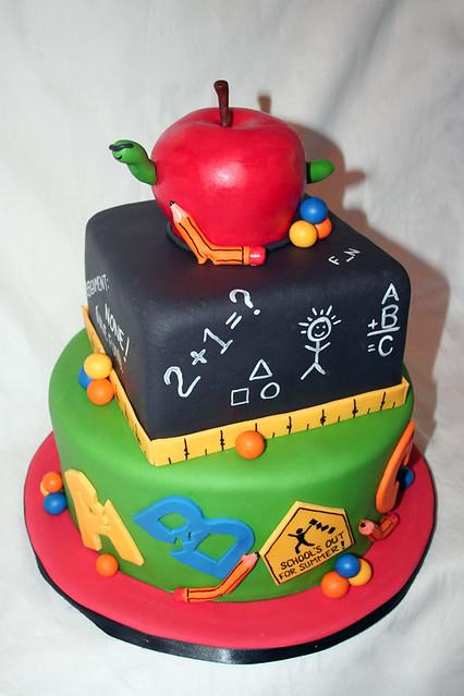 Back To School Cake Designs