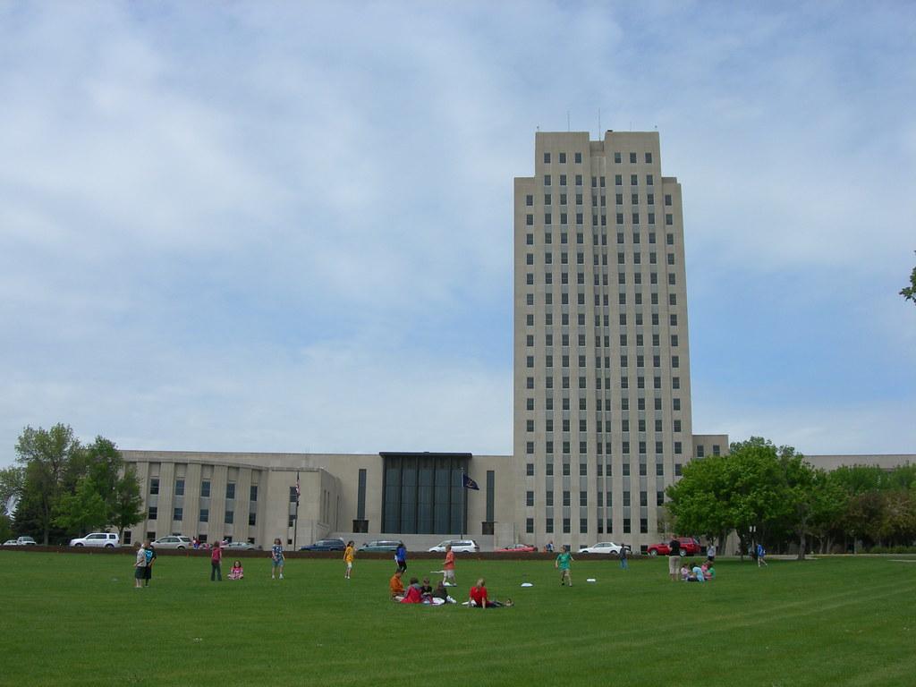 North Dakota State Capitol  Bismarck North Dakota This