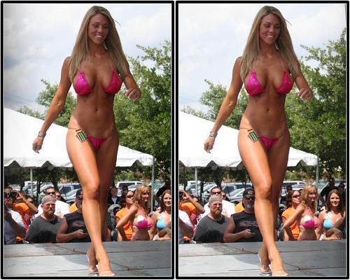 miss republic bikini contest  republic harley