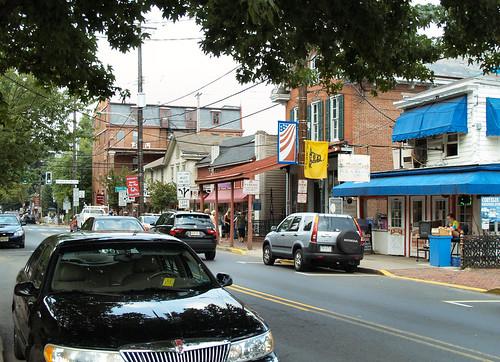 Main Steet New Hope Pa View Of Main Street In New Hope