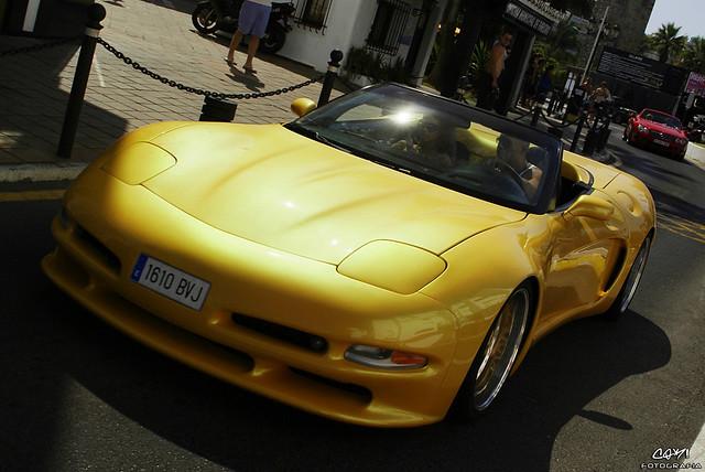 Chevrolet Corvette C5 Widebody Mercedes Sl55 Amg Flickr