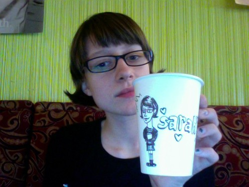 Lyndsey Drew Me On a Cup | by Foxy Science