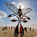 DSC06622 - Burning Man 2009 - Portal of Evolution - Butterfly