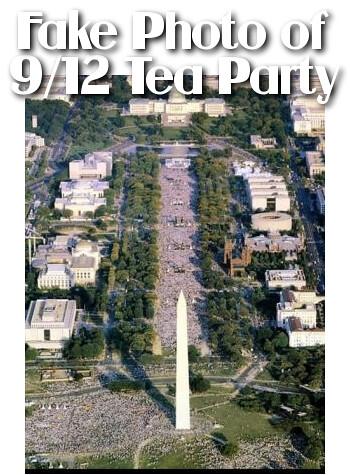 Fake Photo Of 9 12 Tea Party Protest