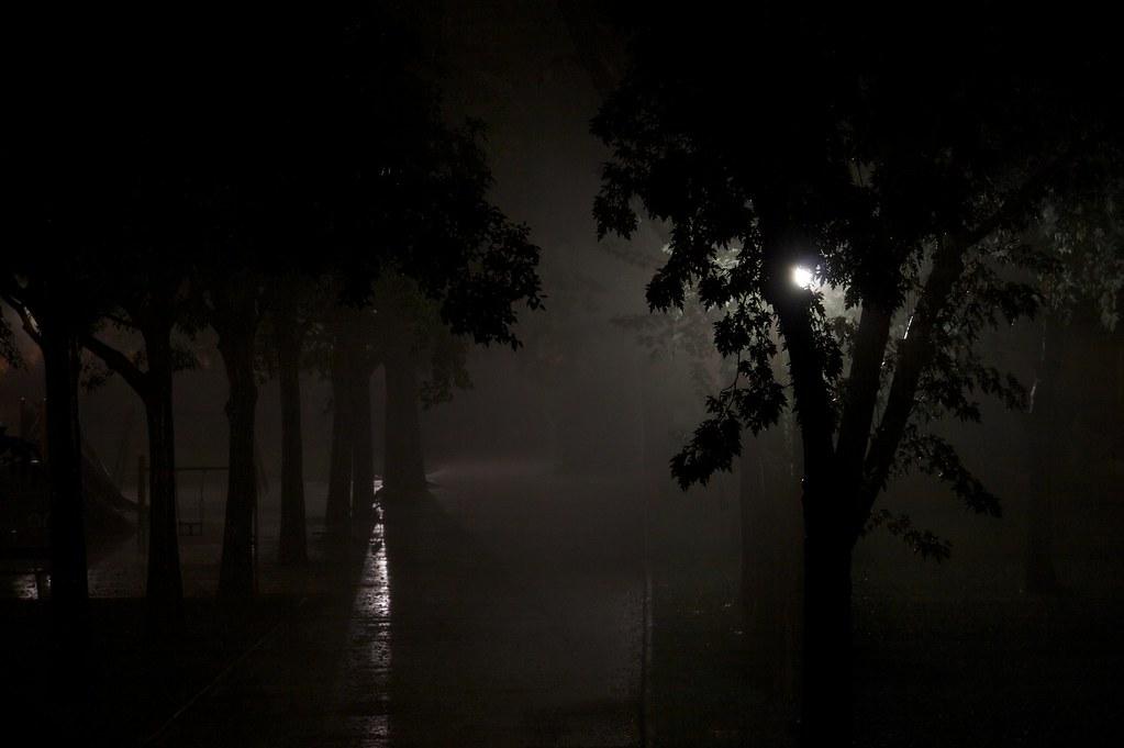 a scary night