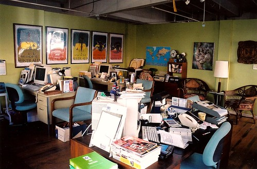 Australian travel agency office interior set decorator ri flickr - Australian tourism office ...