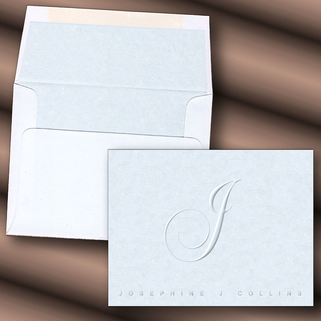 Personalized Papers Executive Stationery: Personalized,monogram,initial,name,note Card,stationery,fi