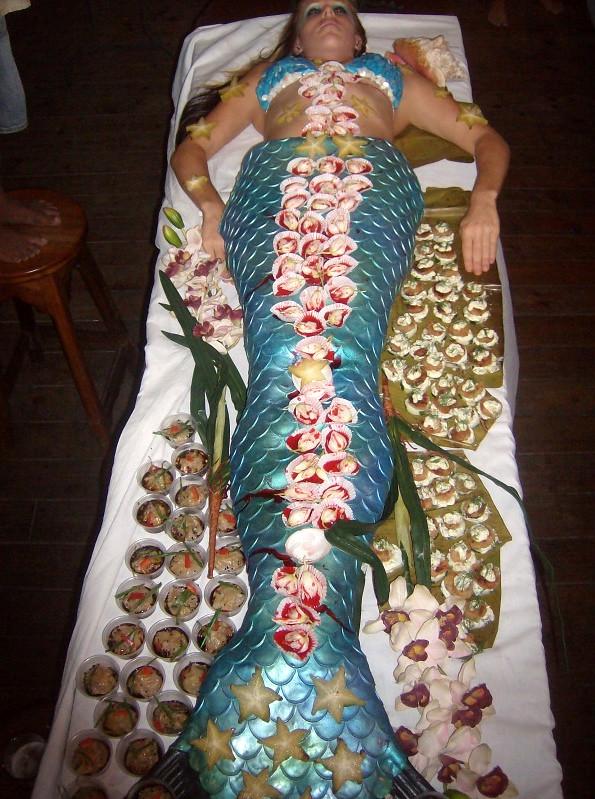 Brandi Mermaid Nyotaimori