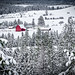 Red Barn Winter Wonderland