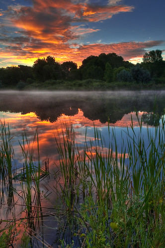 Misty Morning Sunrise | by Mike Berenson - Colorado Captures