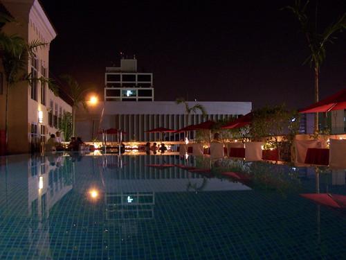 The Infinity Pool Spanish Court Hotel Kingston Jamaica