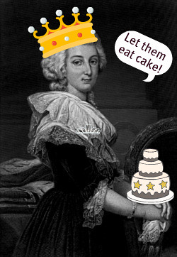 Let Them Eat Cake French Translation