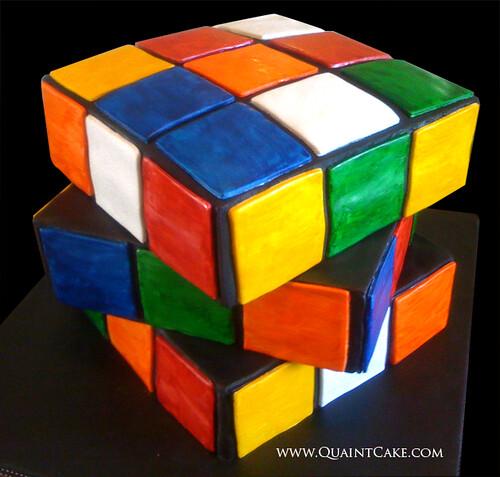 Rubix Cube Cake Pan