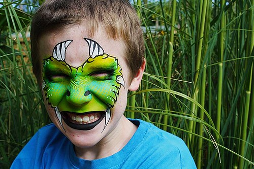 Monster | by Lucid Arts Face Painting
