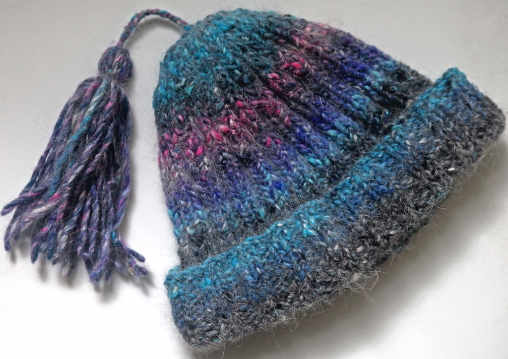 Noro Hat I knit this in Noro Kochoran using Ann Norlings ? Flickr