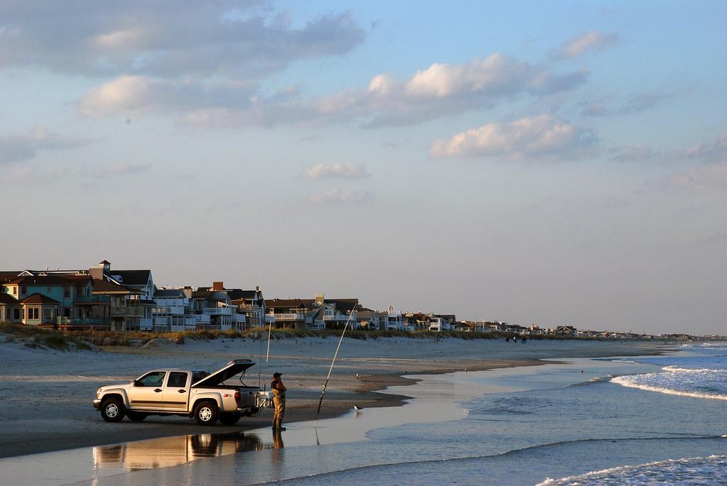 Beach fishing ocean city nj the tide is coming in in for Ocean city nj fishing report