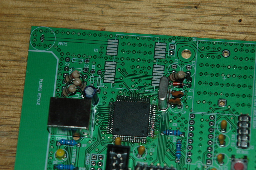 My RTK GPS board | This is where the ublox is going to go  T