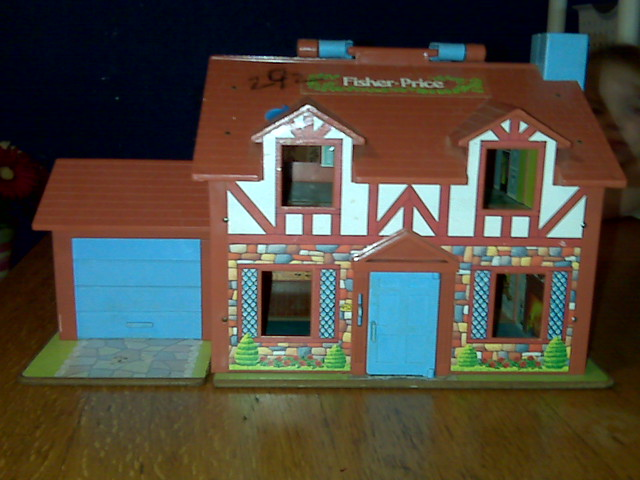 Fisher Price Vintage Dollhouse Exterior | Found this fisher … | Flickr