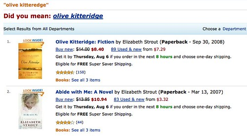 Amazon Olive Kitteridge | by inkcow