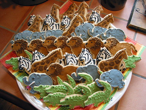 Wild Animal Cookie Platter | by cookieartisan