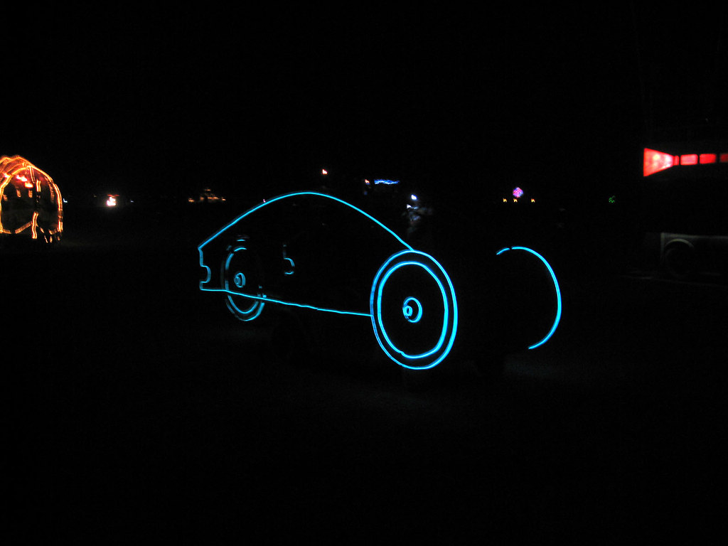 El Wire Art car | John Mosbaugh | Flickr