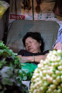 Asleep - Chanh Hung Night Fish Market. Ho Chi Min City/Saigon | by The Hungry Cyclist