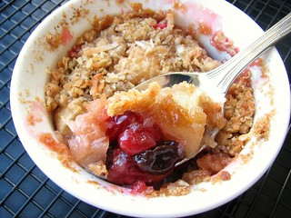 TWD Cran Apple Crisp | by Tracey's Culinary Adventures