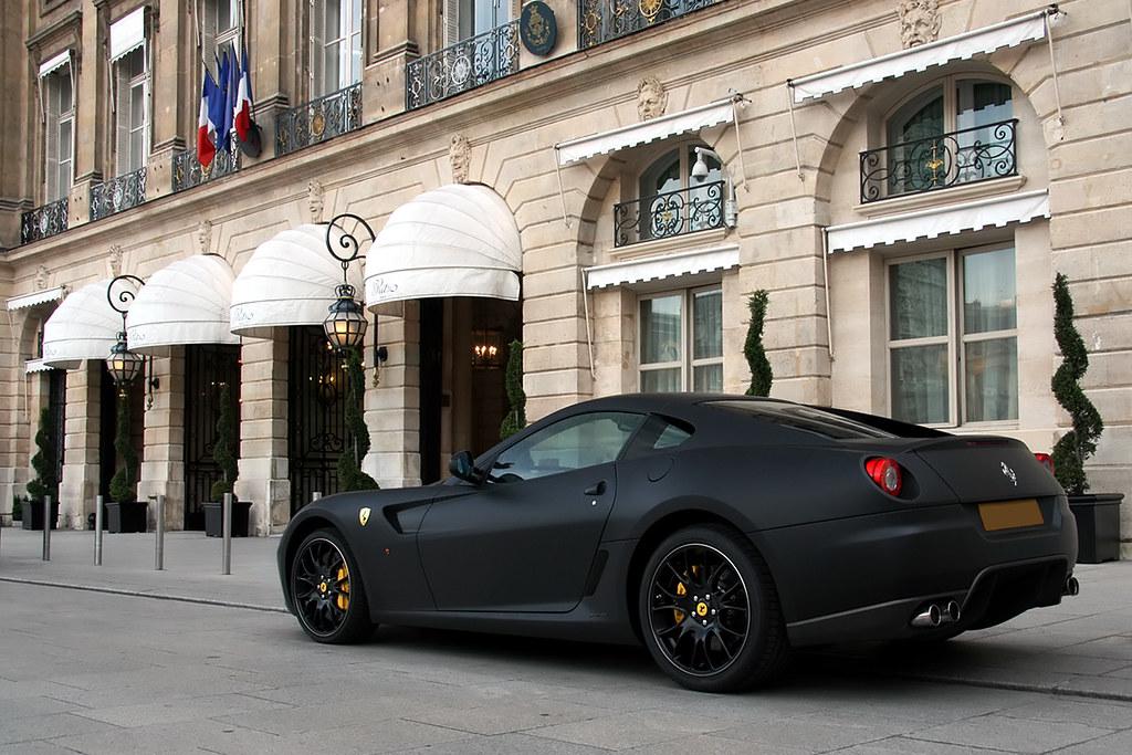 ferrari 599 gtb fiorano matte black by tex mex alexandre besanconcom - Matte Black Ferrari 599