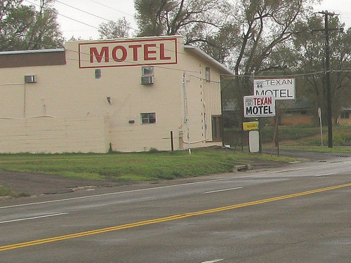 50a Shamrock TX - Texan Motel | by Johns Never Home