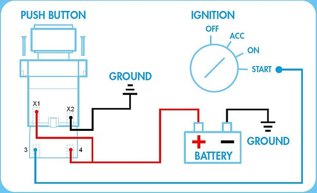 Push button wire diagram wiring diagram telemecanique zb2 bw0613 push button quick start ignition flickr rh flickr com push button start wire diagram emergency push button wiring diagram asfbconference2016 Gallery