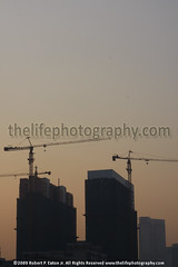 Guangzhou Skyline construction | by thecenterofthenet.com