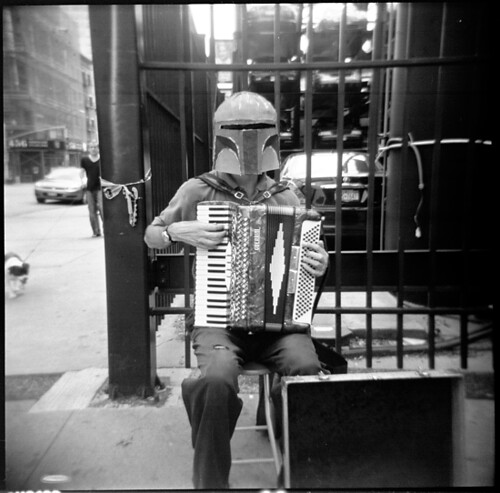 Boba Fett with Accordion | by holly_northrop