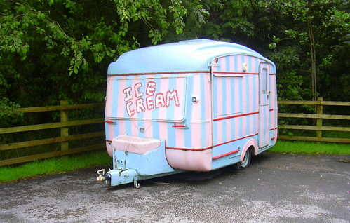 "Ice Cream Caravan ""Clough Head Visitor Centre"" Grane Road, Haslingden, Rossendale, Lancashire 