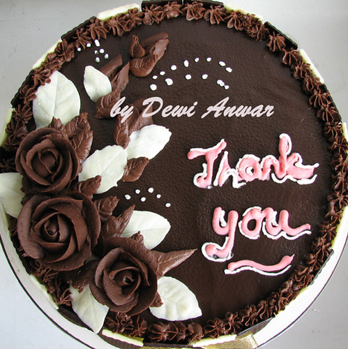 Cake chocolate rose | Devil chocolate cake with roses ...