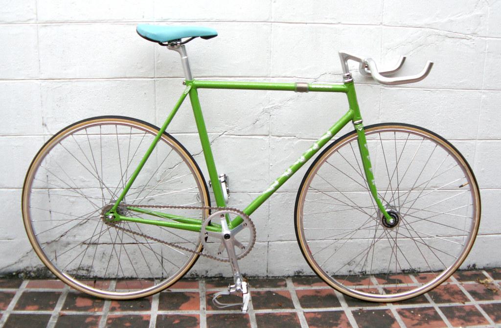 VIVALO (Ocean) NJS Keirin Track Frame 54cm (green) | Flickr