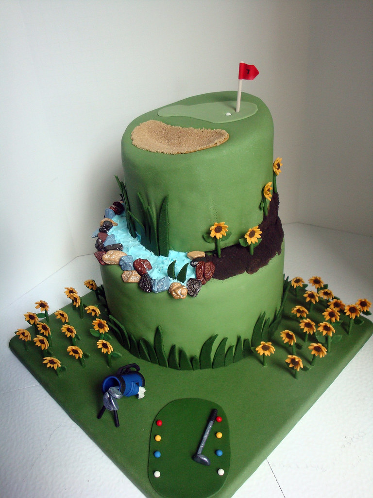 golf wedding cake ideas phil amp shelley s wedding cake the groom golf the 14848