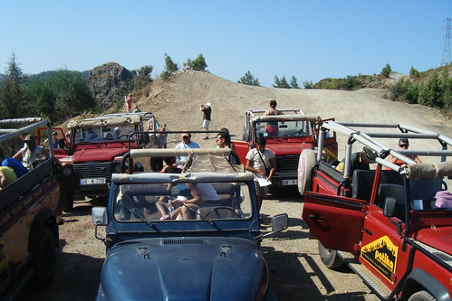 Jeep Safari trip - jeeps parked | by bigpresh