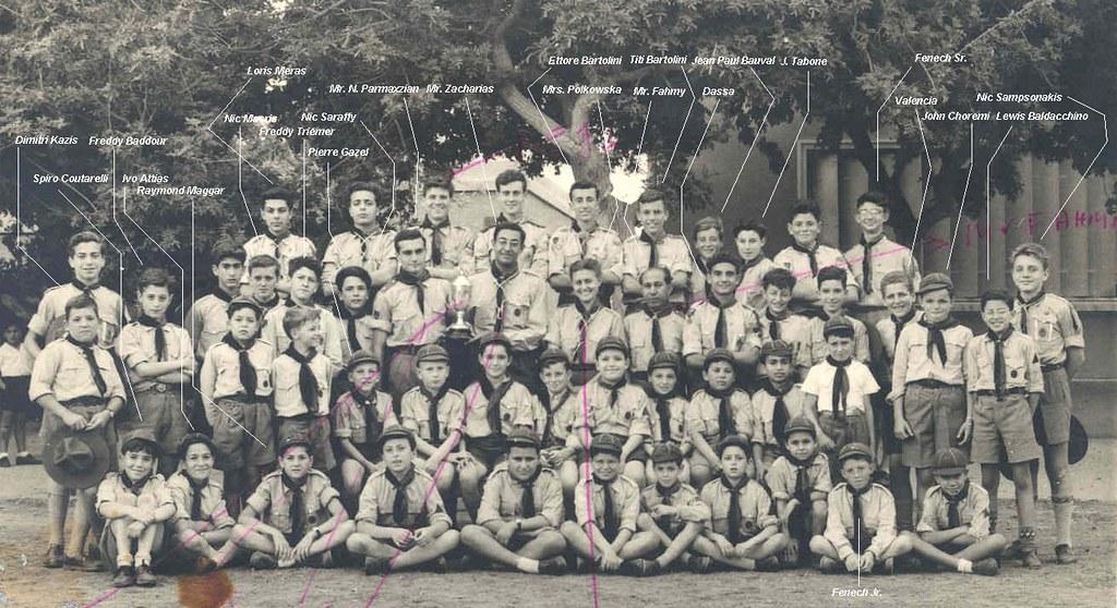 English Boy Scouts