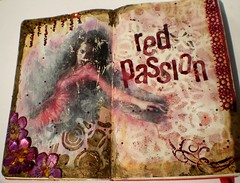 Art Journal- Red Passion | by annah_savage