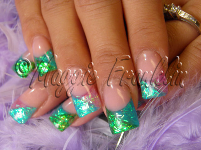 Rockstar Couture Rockstar Nails Design Inlaid By Hand Maggie