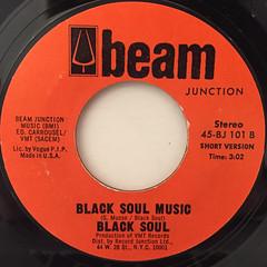 BLACK SOUL:BLACK SOUL MUSIC(LABEL SIDE-B)