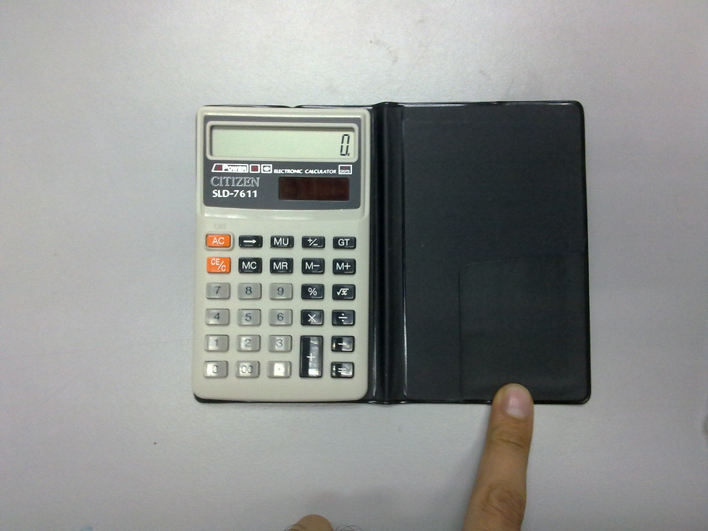 Citizen Sld 7611 2 Of Calculator Only No Box 3 5 X Pi Flickr By Sell2009