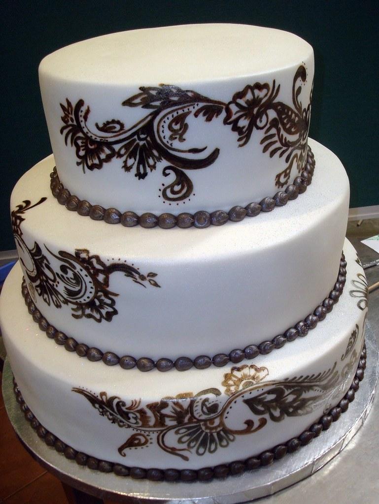 Wedding Cake Zentangle