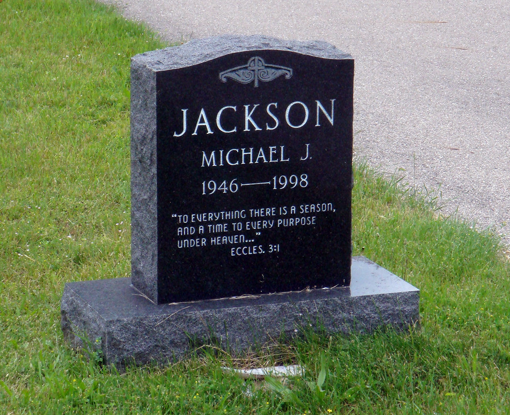 Michael Jackson Gravestone Michael Jackson's grav...