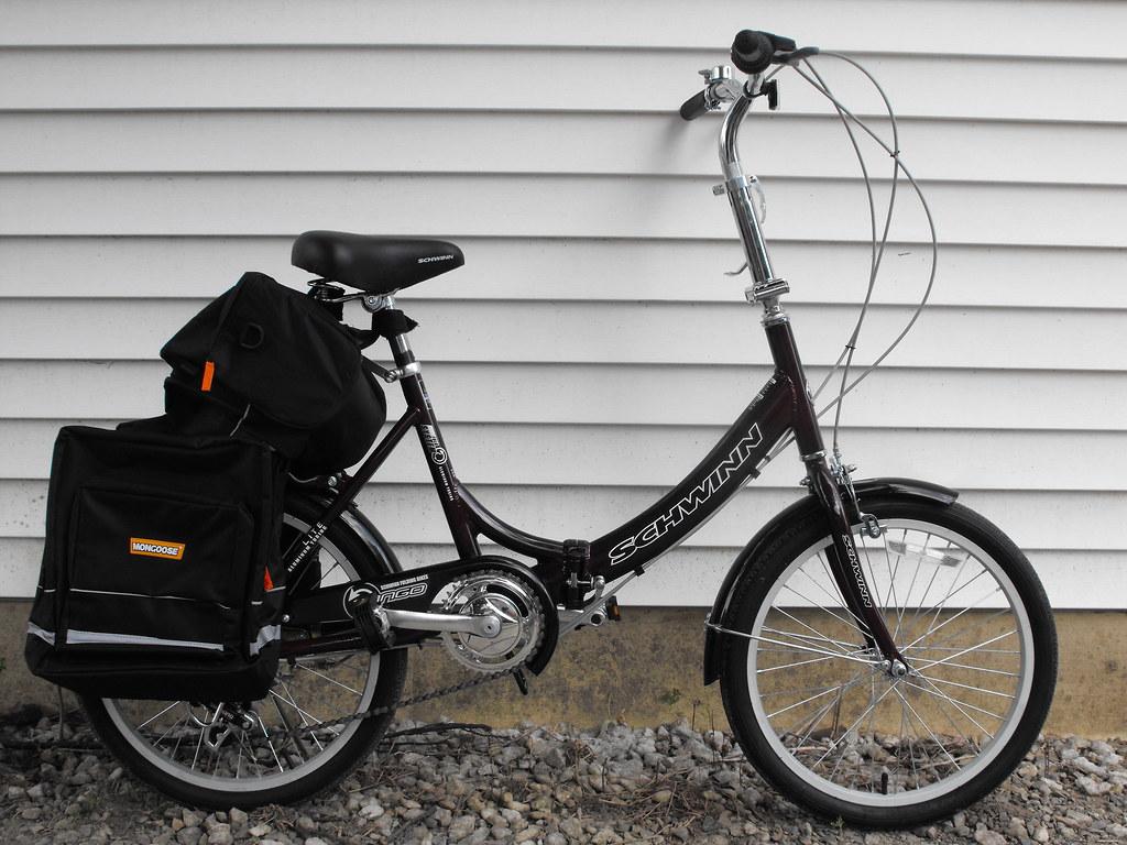 Schwinn Folding Bike My Girl Friends Schwinn Folding Bike Flickr
