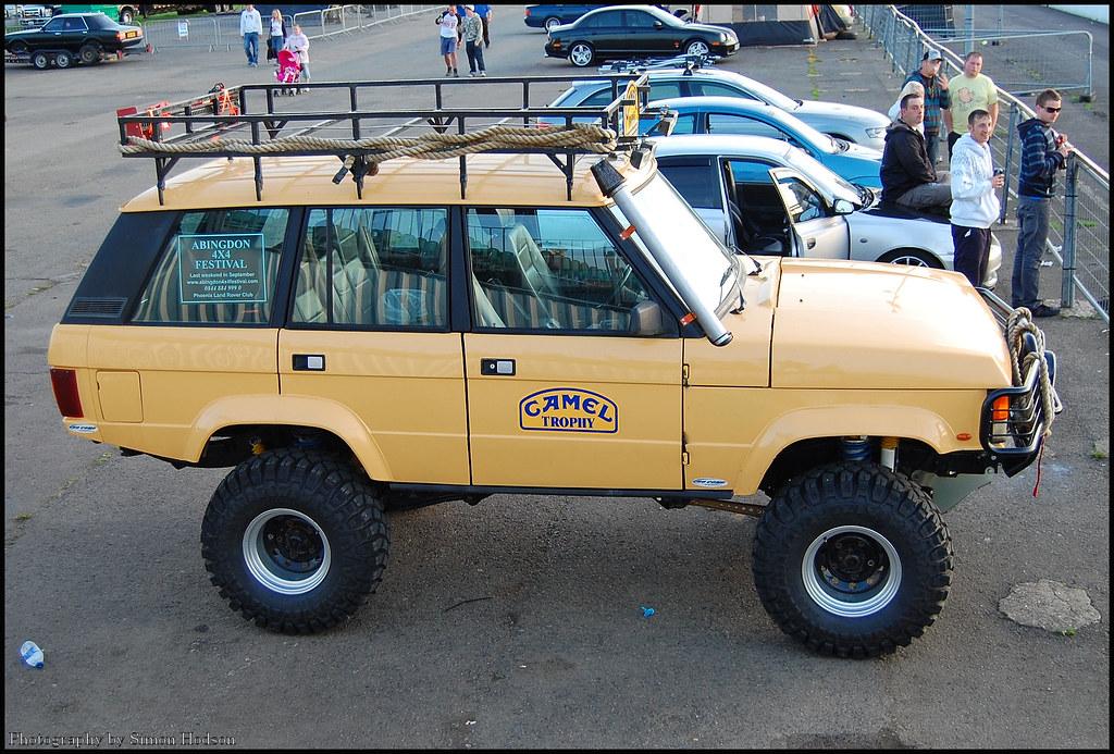 Off Road Power Santa Pod Range Rover Classic Si Flickr