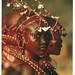 Maasai African Girl Postcard