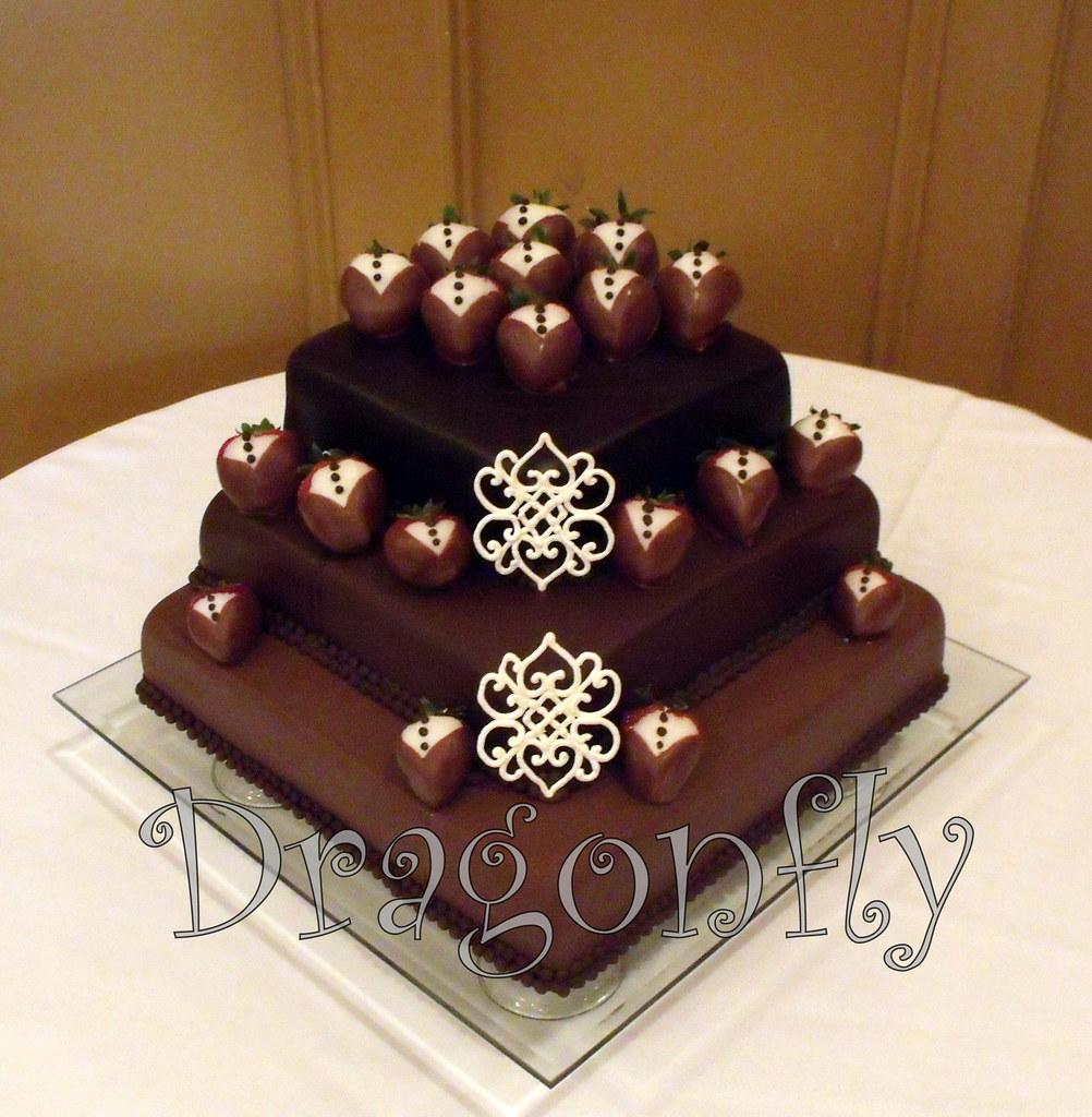 Dragonfly Chocolate Cake