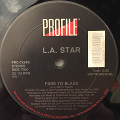 L.A. STAR:FADE TO BLACK(LABEL SIDE-B)
